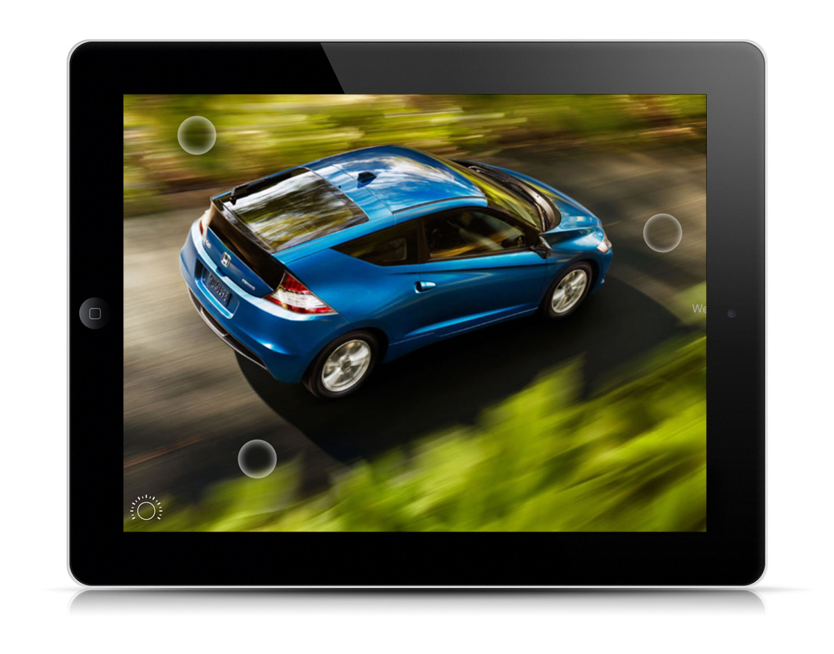 Pomp productions honda cr z ipad app for Honda car app