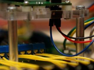 Breakout box LCD mount detail