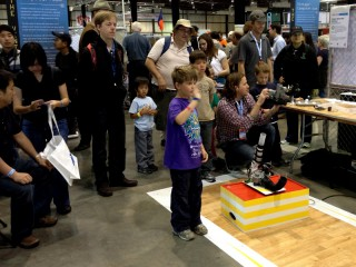 In Action at the 2012 Bay Area Maker Faire