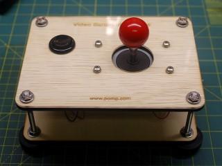 Joystick assembled