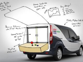 Ultimate Maker Vehicle concept sketch