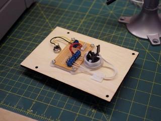 Breakout board mounted
