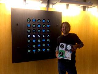 UCLAx Installation - Michael Newman