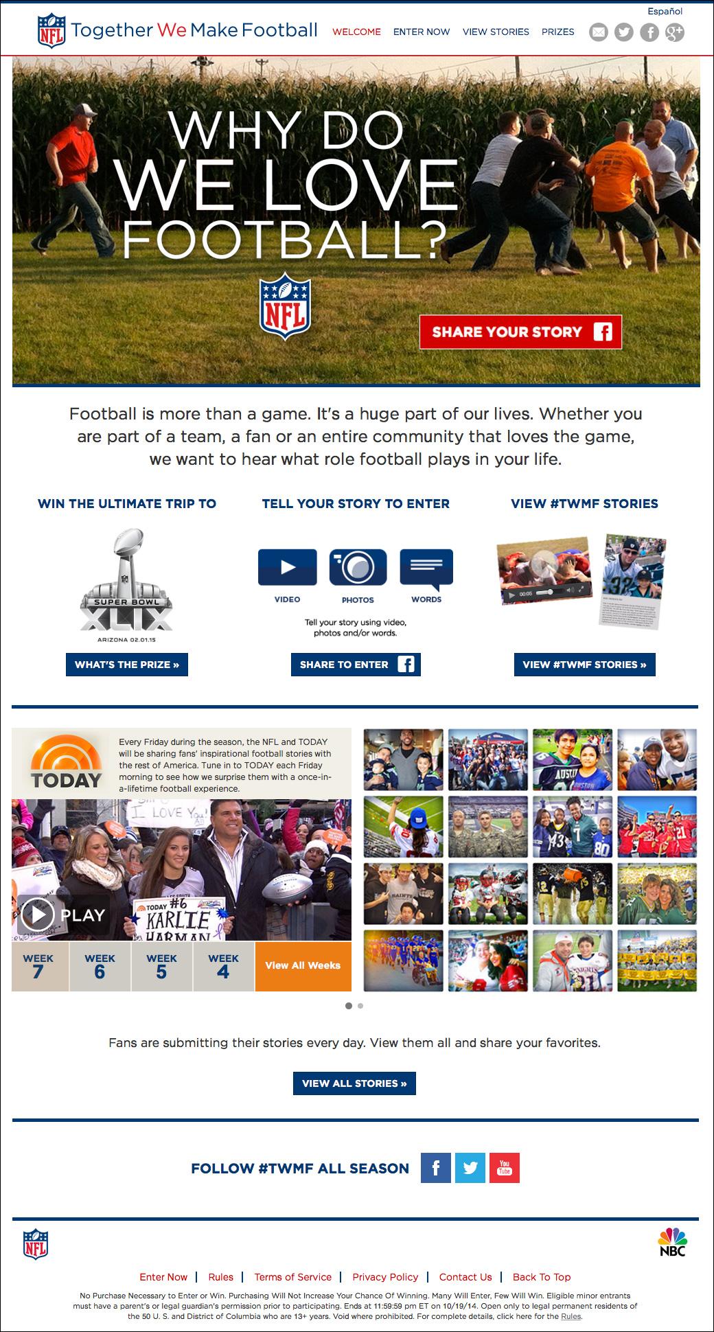 NFL Together We Make Football