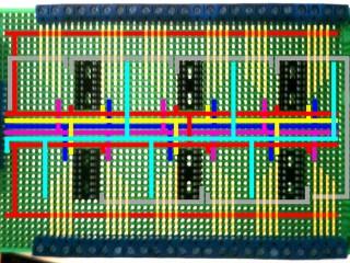 Shift resistor breakout board layout – 48 inputs!