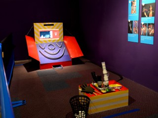 Super Skee Ball Shooter at the Tech Museum of Innovation