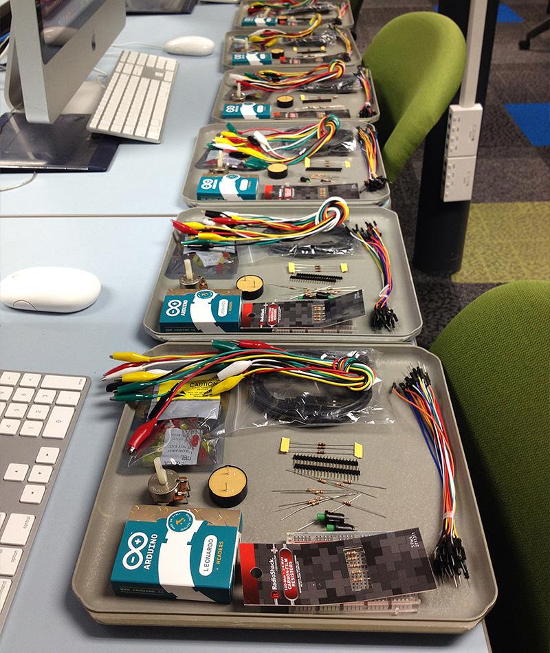 Physical Computing Workshop Kits