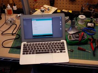 Arduino code uploaded