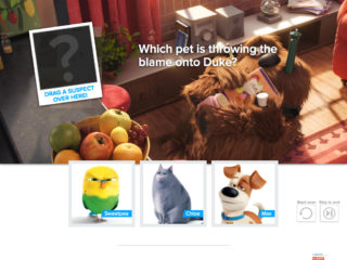 Secret Life of Pets Game Play
